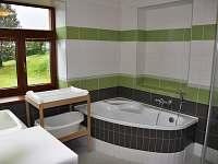 koupelna v přízemí - pronájem chalupy Králíky - Dolní Hedeč