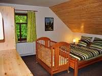 ložnice v patře - Králíky - Dolní Hedeč