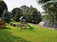 zahrada - chalupa ubytování Králíky - Dolní Hedeč