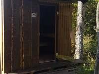 Sauna - pronájem roubenky Malá Morávka