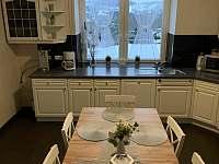 společná kuchyň,plně vybavena - chalupa k pronajmutí Lipová Lázně - Bobrovník