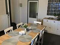 společná kuchyň,plně vybavena - chalupa ubytování Lipová Lázně - Bobrovník