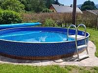 Bazén - chata k pronájmu Bělá pod Pradědem