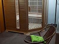 Infra sauna pro 6 osob - chata ubytování Bělá pod Pradědem