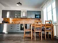Kuchyň - pronájem chaty Bělá pod Pradědem