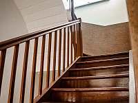 Schody do 1. patra - Bělá pod Pradědem