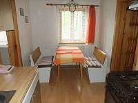 Apartmá V Oblouku - Kuchyň + jídelna