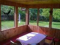 veranda - chata ubytování Vernířovice