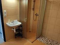WC, koupelna, sprchový kout - chata k pronajmutí Vernířovice