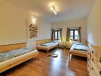 Montanus - ložnice apartmánu Priessnitz