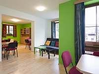 Společenská místnost penzionu Petříkov - chata ubytování Petříkov