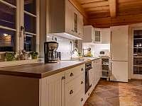 Kuchynský kout - chalupa ubytování Maršíkov