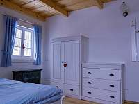 Modrý třílůžkový pokoj - Maršíkov