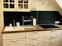 Apartmán 1, kuchyně - chalupa ubytování Kunčice