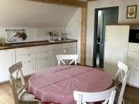 Apartmán 2, kuchyně - pronájem chalupy Kunčice