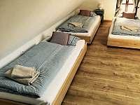 Apartmán 3, ložnice s 5ti lůžky - Kunčice
