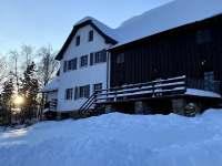 Zima - chalupa ubytování Kunčice