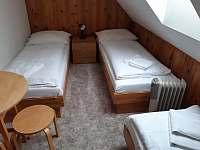 ložnice - chata k pronajmutí Hynčice pod Sušinou