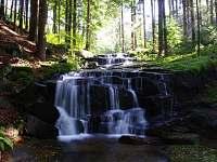 tajemné jesenické potoky - víme kde:-) - pronájem chaty Lipová-Lázně