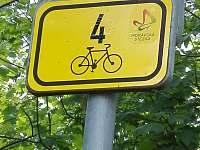 cyklostezka přímo u nás - Branná
