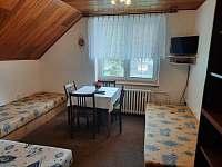 Čtyřlůžkový pokoj bez balkonu - ubytování Velké Vrbno