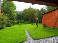 Zahrada - chalupa k pronajmutí Ondřejovice