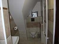 koupelna 1 patro - chalupa k pronajmutí Bělá pod Pradědem - Adolfovice