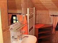 Koupelna - chalupa ubytování Dolní Morava