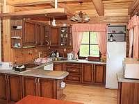 Kuchyň - pronájem chalupy Dolní Morava