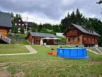 Venkovní posezení s bazénem - Dolní Morava
