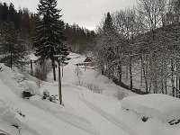 Výhled do údolí Karlova směrem na Malou Morávku