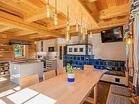Kuchyně - pronájem chalupy Kouty nad Desnou
