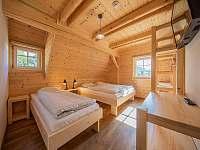 Pokoj 3 s manželskou a samostatnou postelí - Kouty nad Desnou