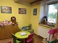 Dětský pokoj - chata ubytování Andelska Hora