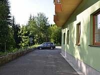 Apartmán Orbit Karlov, pohled z terasy