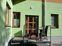 Apartmán Orbit Karlov, terasa