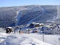 Ski areál Červenohorské sedlo - chalupa k pronájmu Horní Lipová