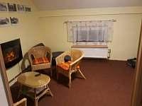 relaxační pokoj - sauna, el. krb, posezení, masážní lenoška, steeper - pronájem apartmánu Kunčice