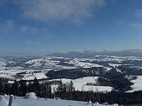 Výhled na údolí - apartmán k pronájmu Kunčice