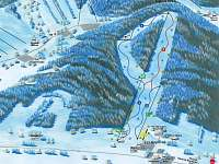 Ski areál Kopřivna 5min od chat