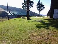 Jižní terasa - chata k pronájmu Červenohorské sedlo