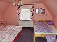 horní 4-lůžkový pokoj