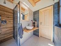 Koupelna - pronájem chaty Kouty nad Desnou