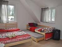 ložnice - chalupa k pronájmu Nové Losiny