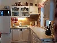 Kuchyň - chata ubytování Šléglov