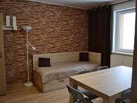 apartmán 6 míst - obývací pokoj - ubytování Loučná nad Desnou