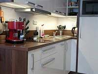 kuchyně apartmán 5 - Loučná nad Desnou