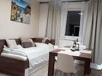 obývací pokoj apartmán 5 - pronájem Loučná nad Desnou