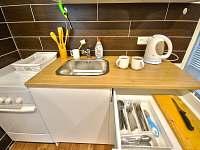 kuchyn - apartmán k pronajmutí Jeseník