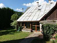 Chalupa ze zahrady - Bušín